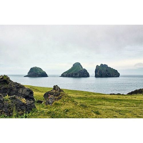 Three. The small islands Hæna, Hani and Hrauney seen from my birthplace Heimaey. I was born and raised in Vestmannaeyjar, an archipelago just south of Iceland. A magical place with this being the view from my bedroom window when I was a kid! Iceland Vestmannaeyjar Magicalnature Heimaey Islandsofadventure Arctic Igscandinavia Igiceland