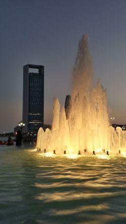 Abu Dhabi 2014 Corniche Fountain
