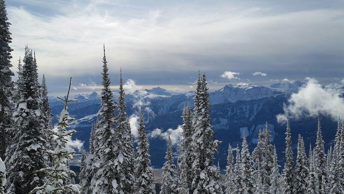 My Town My Valley Revelstokemountainresort Wintertime Mothernature Revelstoke Volkl Ski Freeskiing Treesking Mountain Life Eye4photography  Sky And Clouds EyeEm Gallery