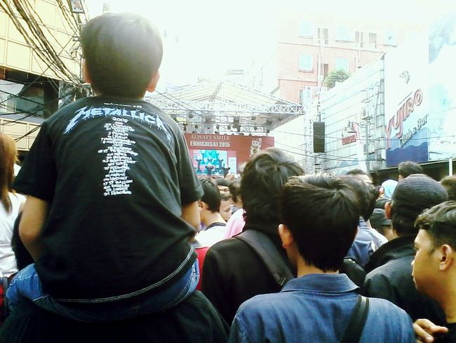 Dad i love Metalica Stree Photography Blokm Concert Jepang Nippon Festival LittlejapanblokM Jakarta Indonesia Metalica Ennichisai2015