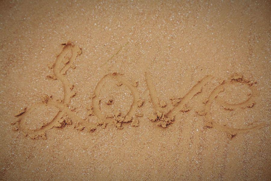 Written In The Sand Love ♥ Life Is A Beach Summertime Creative Perfection Eye4photography  EyeEm Best Shots Canon5D
