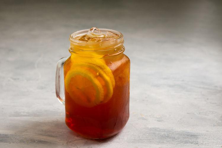 Iced tea with