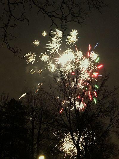 Happy New Year Berliner Ansichten Berlin New Year's Eve Fireworks New Year's Eve New Year Low Angle View Firework - Man Made Object No People Illuminated Firework Sky Outdoors