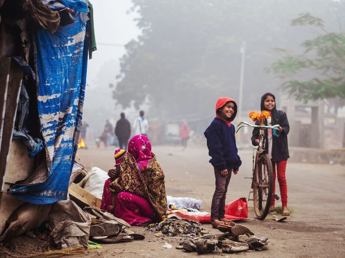 everyday life of poor people. #Dailylife #photography #young #kids #winter #india #everydaylife #homeless #wintermorning India #Dailylife Photography Young Adult Adults Only Adult Togetherness Adventure Warm Clothing Young Women Friendship Two People Cold Temperature Women Outdoors Day