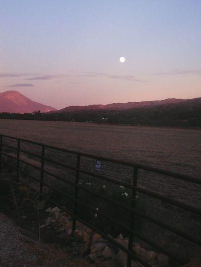 Upper Ojai Super Moon Supermoon Ojai Daymoon Mountains Scenery Scenic