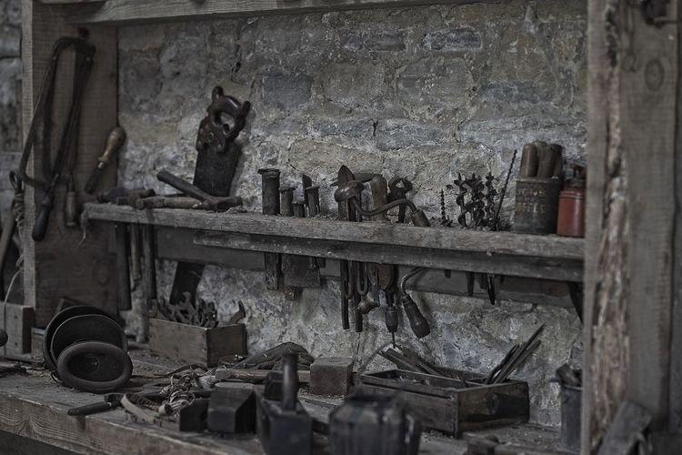 old tools No