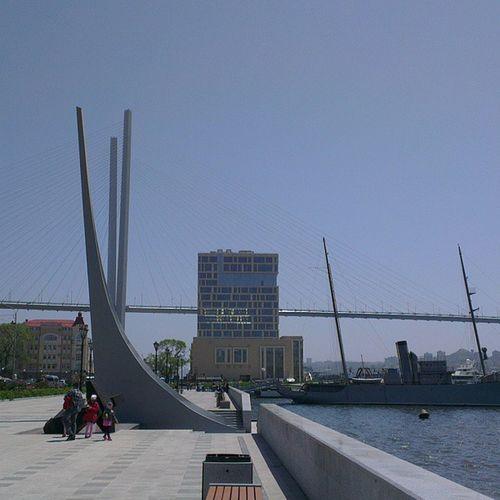охуенныйвиднамост  Владивосток