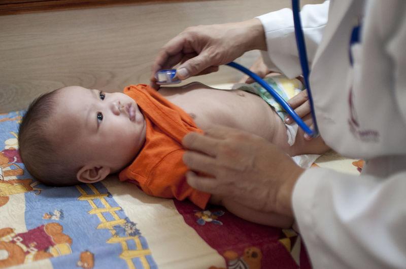 Doctor Examining Toddler