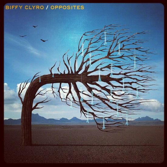 One of the most anticipated albums of the year. BiffyClyro Opposites Oposih