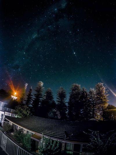 Photography Building Exterior Outdoors Beauty In Nature Galaxy Goprohero4 Longexposurephotography