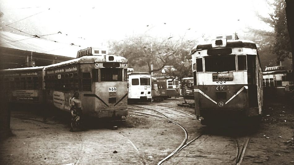 Heritage of Kolkata....The Trams are still living n loved by us...