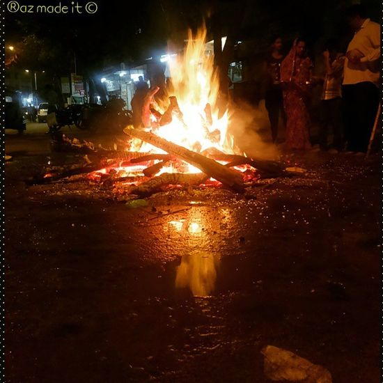 Holi Burning Holika People Faith Color Festival Gotta Catcha Ahmedabad Razmadeit Instaclicks Instagram Happiness Spirituality Photogrid @instagram_ahmedabad @shutterlive