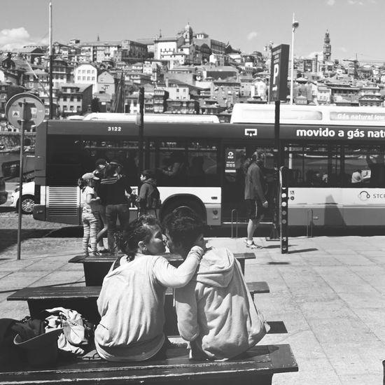 Love scene in Portugal