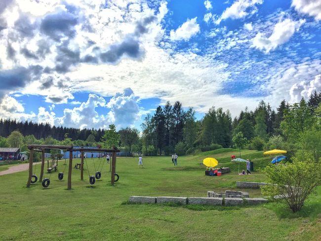 Naturpark Königfeld Schwarzwald Königsfeld Spielplatz Summertime Kids Erlebnitzplatz