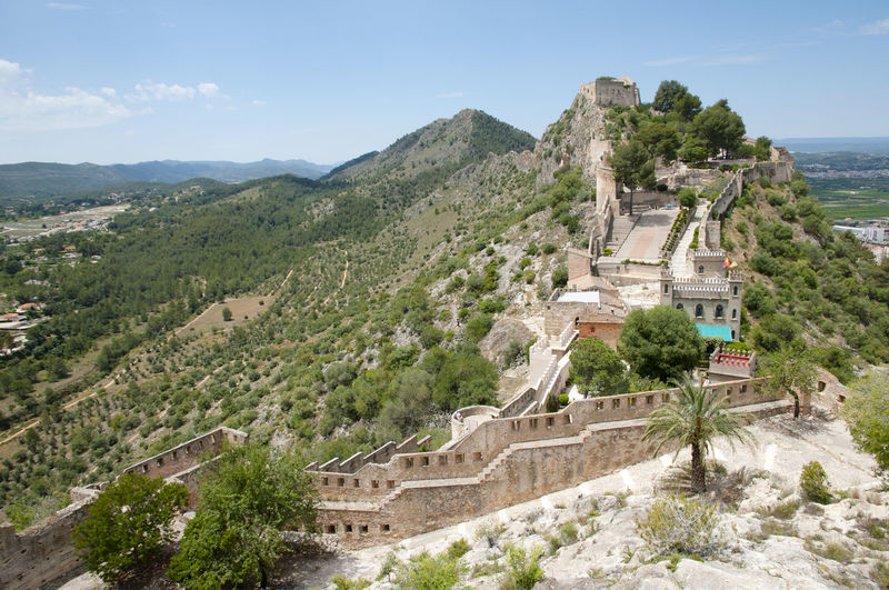 Castle of Xativa Castle SPAIN España Ruin Xativa