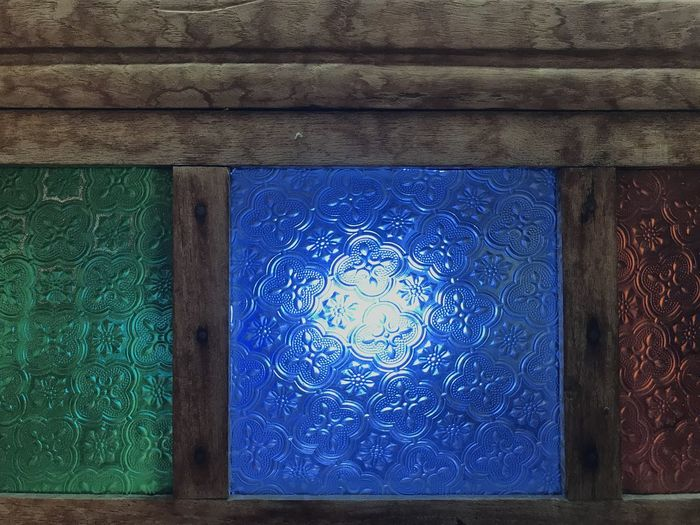 Blue Pattern No