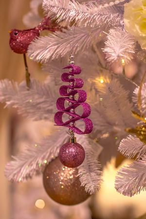 Celebration Christmas Christmas Decoration Christmas Ornament Christmas Tree Close-up Focus On Foreground Hanging Night No People Outdoors Tree Новый год