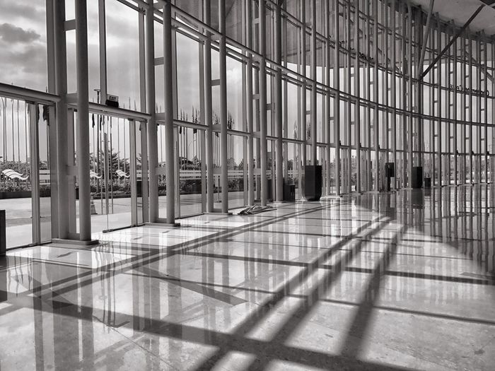Interior design Indoors  Architecture Modern Architectural Column Airport Built Structure Airport Departure Area Day No People EyeEm Selects Iphonephotography