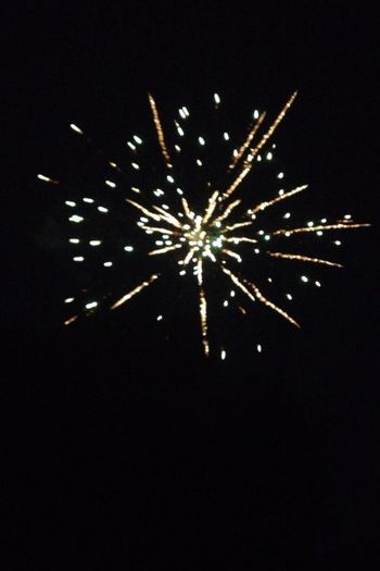 Last night, had fireworks right in my backyard :) Thanksneighbors