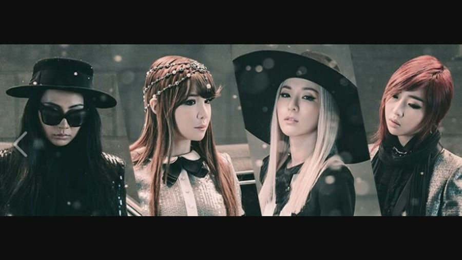 Happy6th2ne1 Parkbom Minzy CL Dara Bjth YG