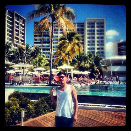 That's Me Happy :) Playa #beachBea#