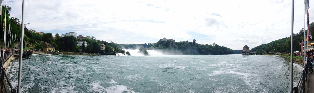 Panorama Rheinfall Switzerland Sunshine IPhoneography Good Mood Holiday Water Falls Hanging Out EyeEm Best Shots - Nature