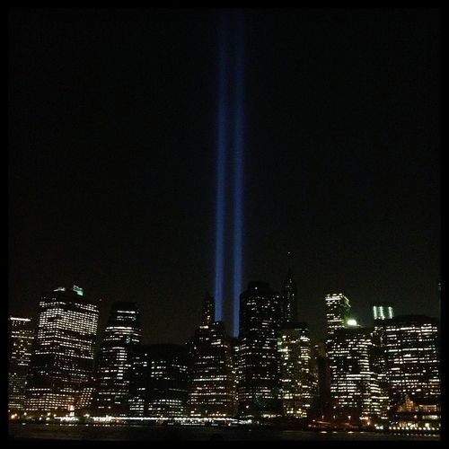 Tribute In Light Never Forget Landscape September 11th