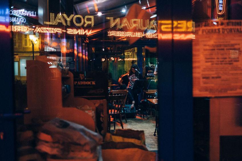 Atmosphere Bar Cafe Bar Fuji Fuji Xt1 Fujifilm Fujifilm_xseries Light Night Night Red Reflect Reflection Restaurant Restaurant Decor Street Street Photography Xt1 All The Neon Lights