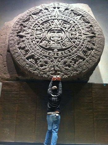 Calendar Maya Mexico City Antropology Travel Destinations No Filter Viva Mexico Tacos Al Pastor Diversity Happiness Cultures Museum One Person People