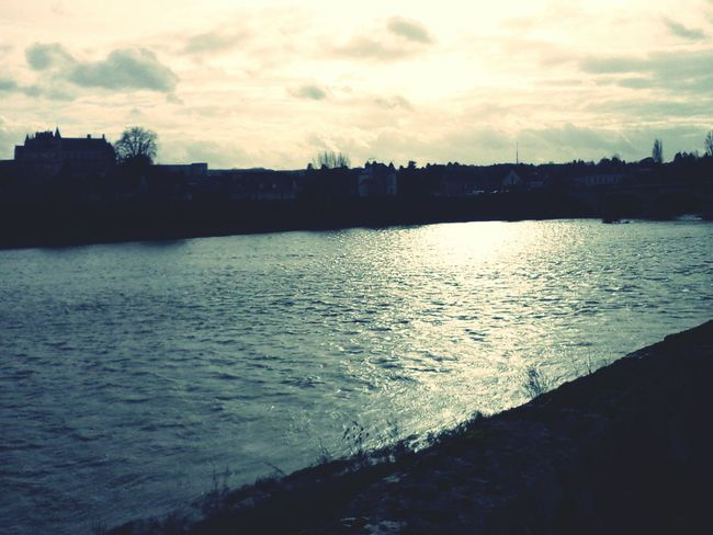 Beatifull Loire valley Loire Valley Castle Winter