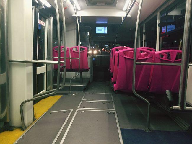 Metrobus de la Ciudad de México, 21:00 hrs [ Public Transportation Night Travel Mexico City ]