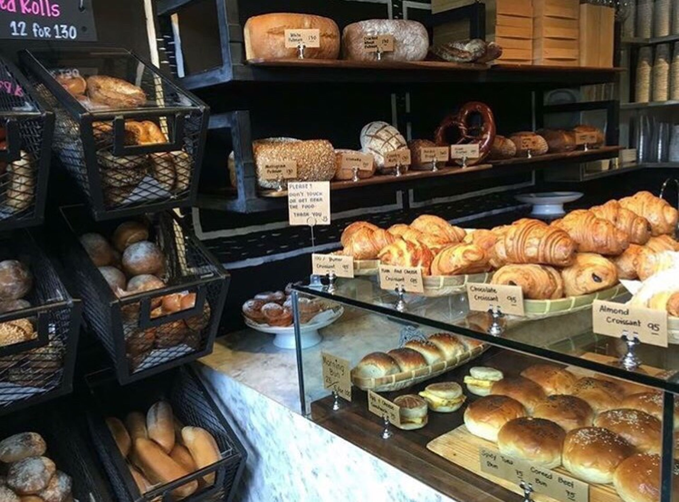 bakery, bread, shelf, freshness, variation, no people, loaf of bread, french food, food, baguette, day