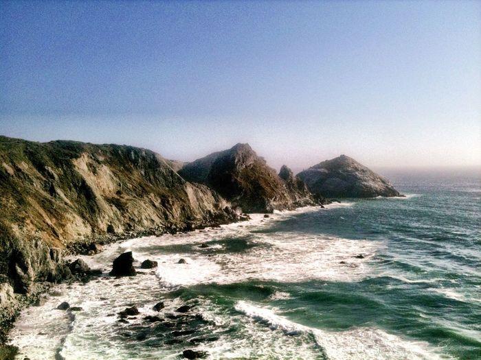 Bigsur California Coastline Ocean