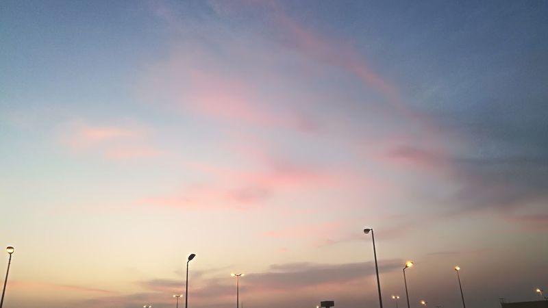 Sunset Dramatic Sky No People Cloud - Sky Street Light Sky Outdoors Nature Warm Sky Color Amazing EyeEmNewHere