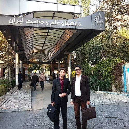 Me and Ali in IUST.ac.ir . نوید_کمالی Navidkamali Nkamali_ir