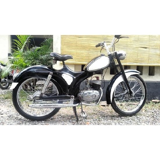 Moped HMW 50cc 1949 Restoration