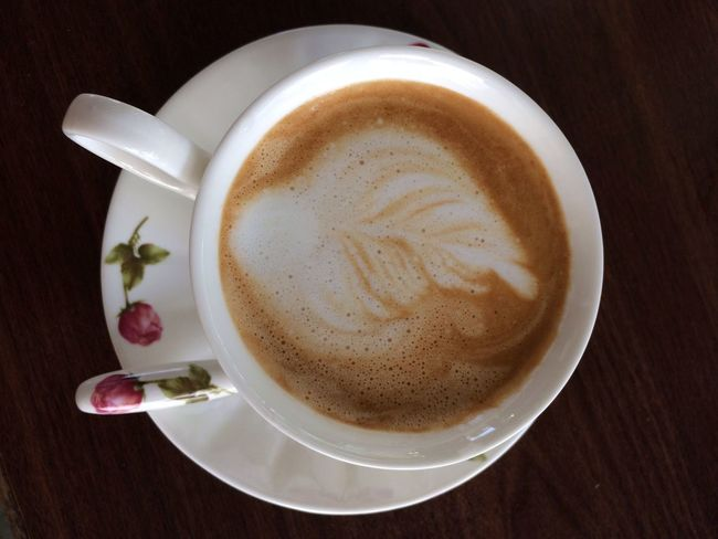 Success leaf :D Cosmffee Coffee ☕