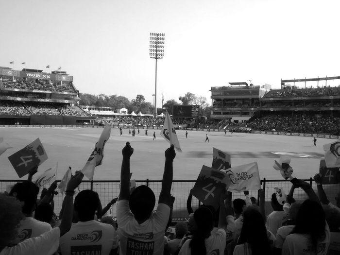 IPL cricket match. Sport Cricket! EyeEm Selects Cheerful Fun Playing India Ipl T20 Cricket Mobilephotography PhonePhotography