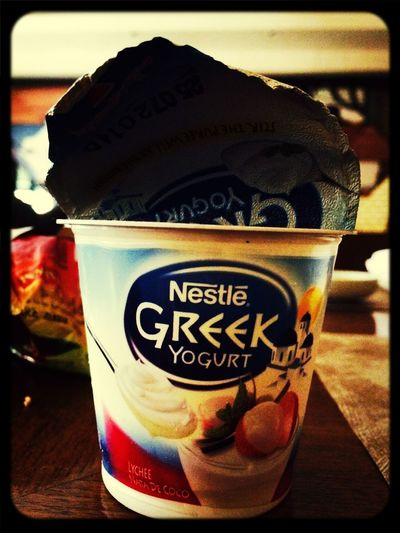 Greek Yogurt. Eating Healthy Cheese!