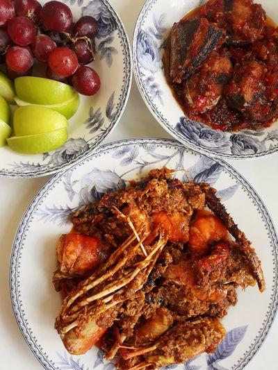 Prawn Curry I Lovecooking Food EyeEm Best Shots EyeEmNewHere Eyefood EyeEm Selects EyeEm Gallery Fruit Plate Table Close-up Sweet Food Food And Drink Served