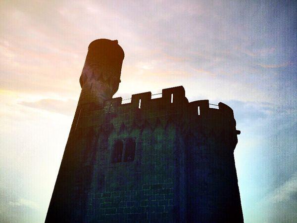 Exploring New Ground Castle Tower Olite Excursion Taking Photos Enjoying Life