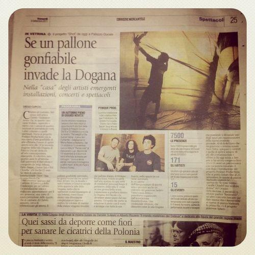 En el Corriere Mercantile Peniqueproductions