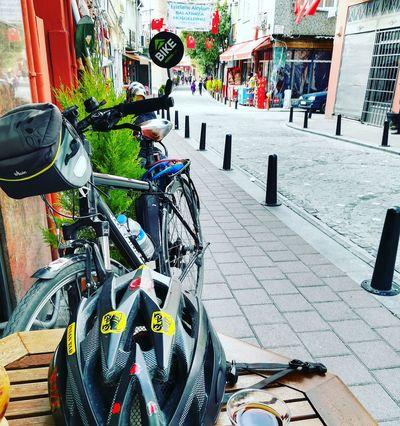 Balat Bicycle Outdoors Bicycle Rack City Citylife,bikelife Tarihimekan Konstantinapolis