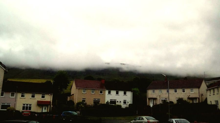 Weather Scotland Cloud Architecture Building Exterior Built Structure Transportation House Sky Residential Building Road Car Street Cloud - Sky Mode Of Transport Land Vehicle Storm Cloud Outdoors Day Town Cloudy Mountain