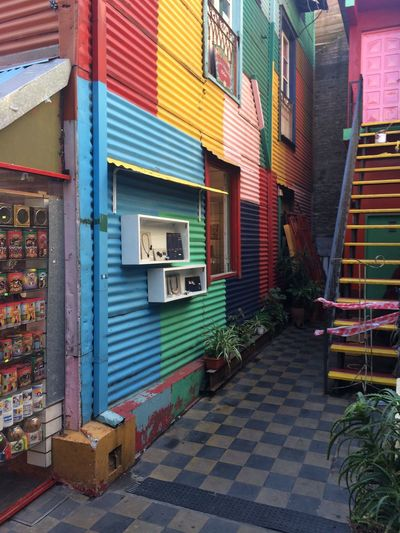 Color Colorful life Architecture Building Exterior House Multi Colored Outdoors City f Full Frame Built Structure Wall Buenosaires Argentina Laboca Boca