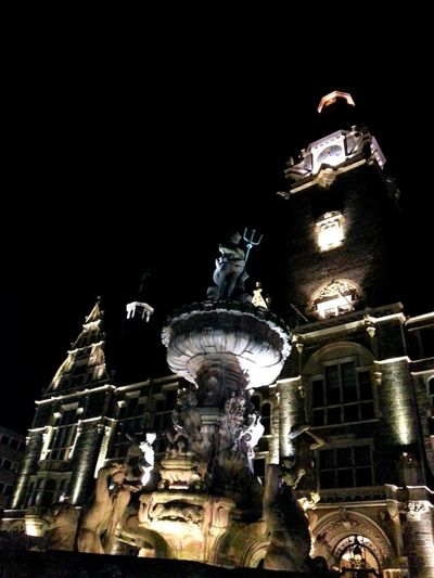 Wuppertal Zentrum Smartphonephotography Germany Stadt Rathaus Notturna Samstag Abend  GtN7100