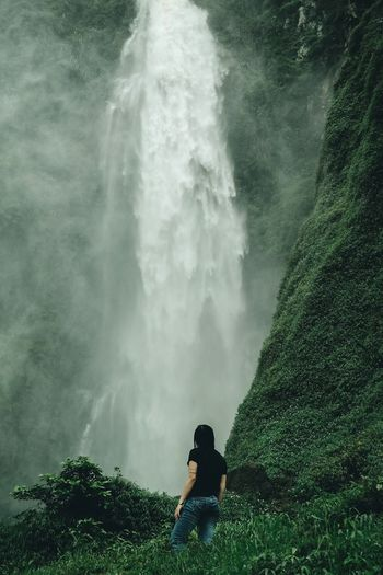 Bugbrug waterfall, West Java, Indonesia. Lost In The Landscape Landscape Waterfall Connected By Travel Be. Ready.