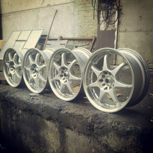 Kosei r16 едут к своему новому владельцу. Kosei Japan JP Wheels wheels_kosei wheels_r16 chrome driveekb drive2ru drive2 drive