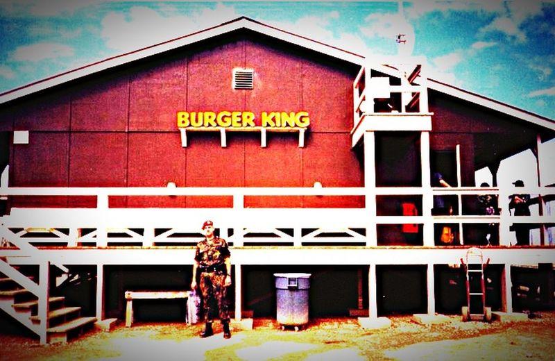 That's Me Military Army Military Police Feldjäger Bundeswehr KFOR Kosovo Ferizaj Burger King