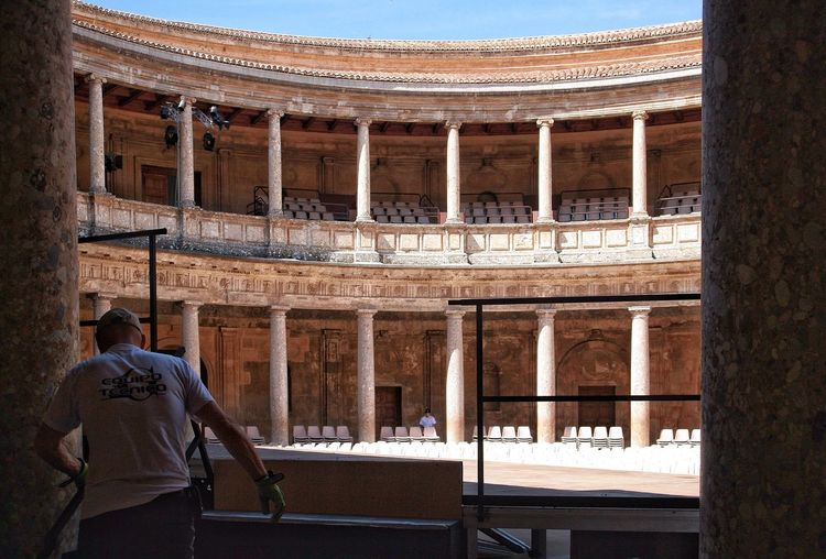 Andalusia The Week On EyeEm Andalusia Ancient Theatre Architecture Behind The Scenes Before The Show Be. Ready. Modern Workplace Culture Stories From The City Adventures In The City Amphitheater Monument
